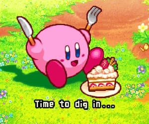 gif, kirby, and かわいい image