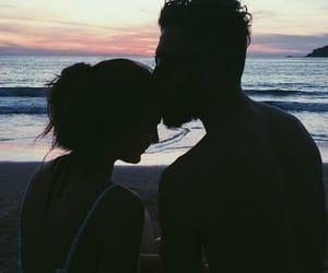 amor, girl, and heart image