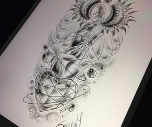 draw, illustration, and futurehouse image
