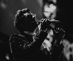 black and white, blackandwhite, and Harry Styles image