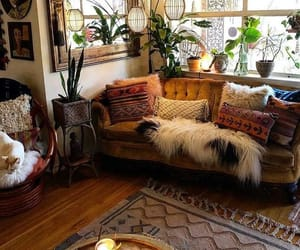 bohemian, boho, and decor image