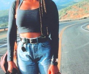 90s, fashion, and janet jackson image