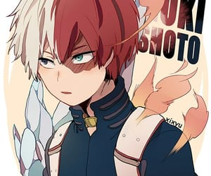 boku no hero academia, todoroki shouto, and anime image