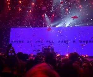 concert, confetti, and mania image