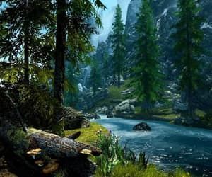 forest, grass, and magic image