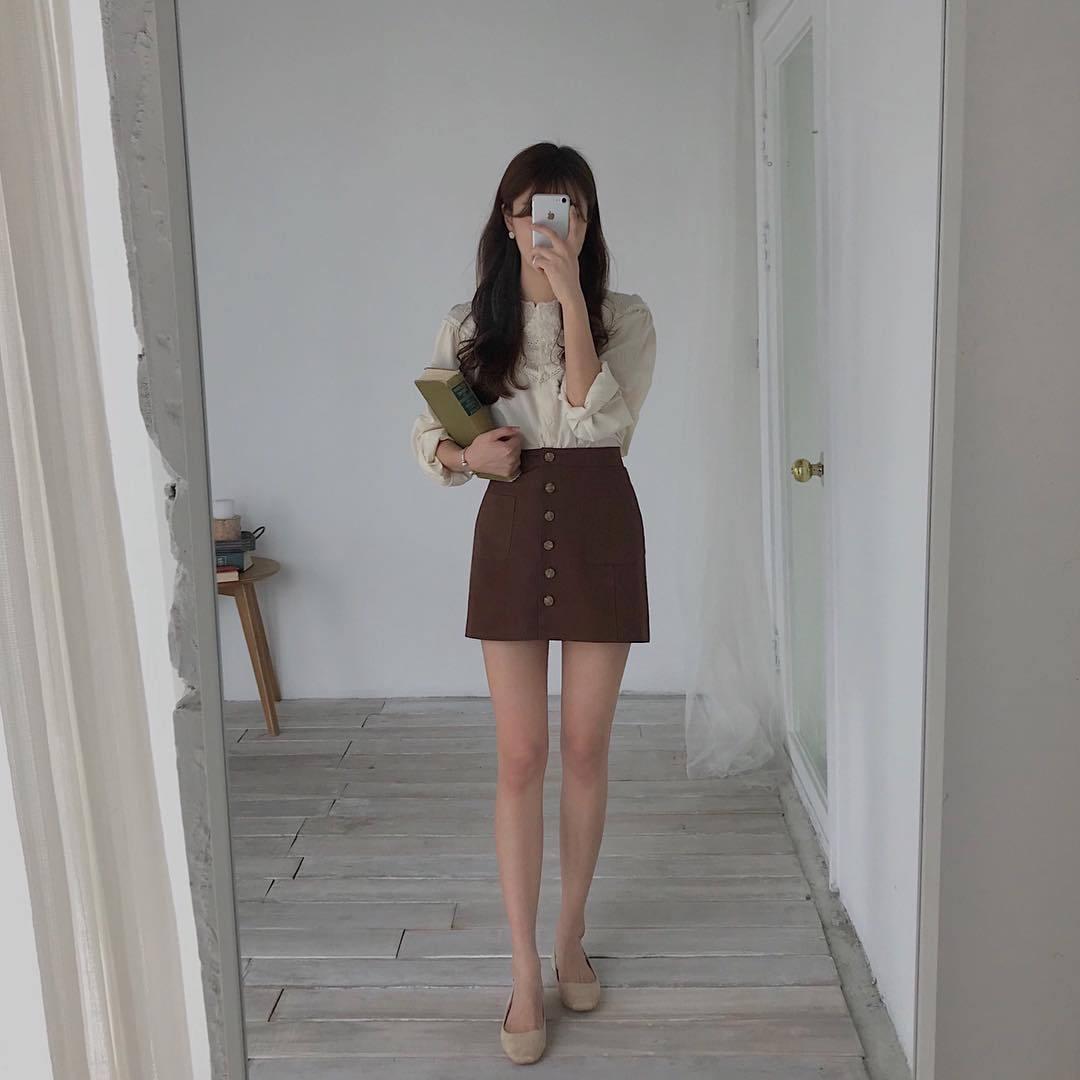 Outfit   Mirror   Beige   Melon joy on We Heart It