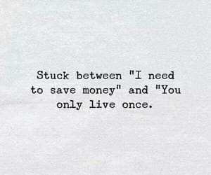 life, live, and money image