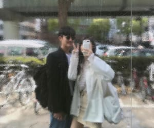 boyfriend, couple, and grunge image