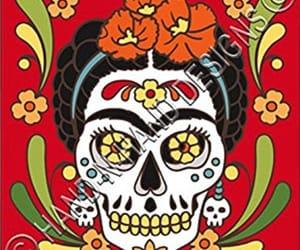 draw, dia de los muertos, and Frida image