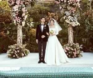 Korean Drama, wedding, and song hye kyo image