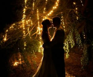 love, light, and wedding image