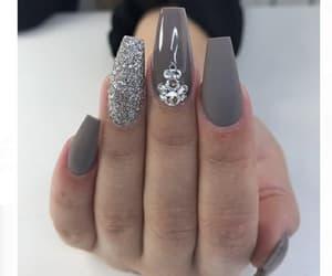 cool, girl, and nail image