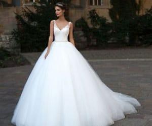 wedding dress and bridal dress image