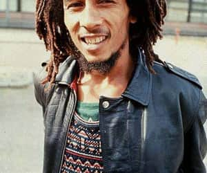 bob marley, peace and love, and reggae image