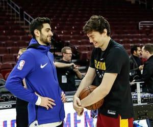 NBA, friendship goals, and cedi osman image