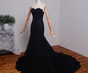 black formal dress image