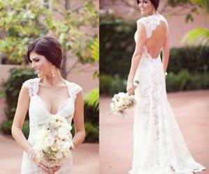lace wedding dress image