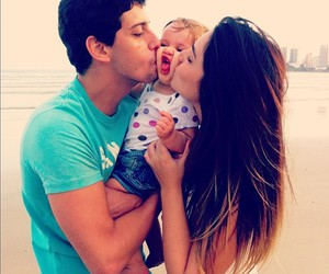 love, baby, and family image