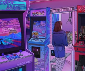 game, purple, and aesthetic image