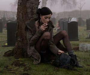 cigarette, smoke, and felice fawn image