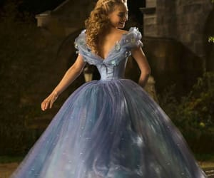 cinderella, disney, and blue image