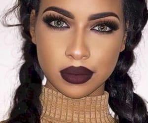 beautiful, makeup, and black image