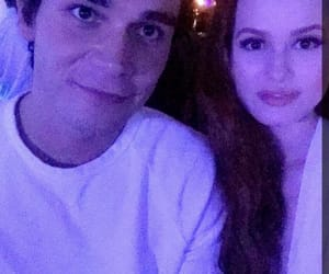 kj apa, madelaine petsch, and riverdale image