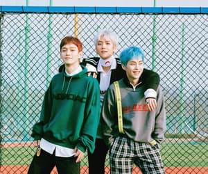 exo, baekhyun, and Chen image