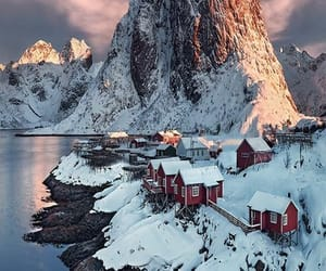 norway, snow, and travel image