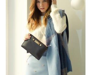 girl, purse, and cartera image