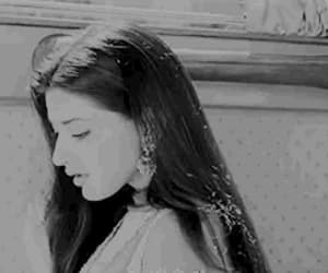 beauty, black white, and bollywood image