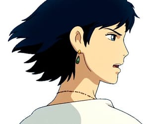 aesthetic, anime, and black hair image