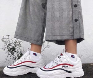 fashion, sneakers, and Fila image