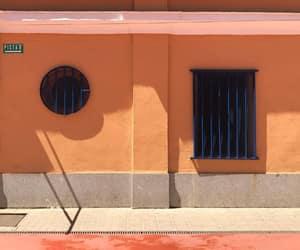 facade, peach, and windows image