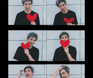 heart, wallpaper, and rm image