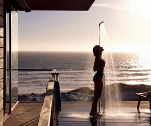 shower, girl, and summer image