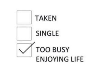 single, taken, and funny image