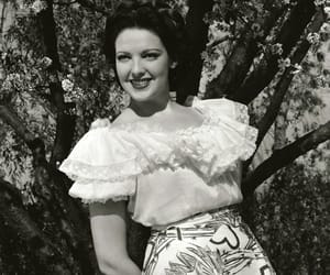 1940s, linda darnell, and classic hollywood image