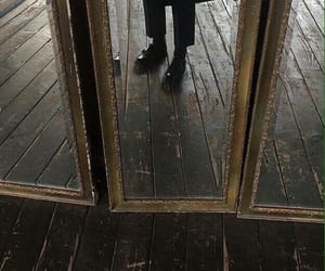mirror, aesthetic, and black image