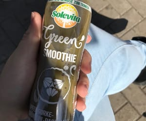 green smoothie, solevita, and lidl image