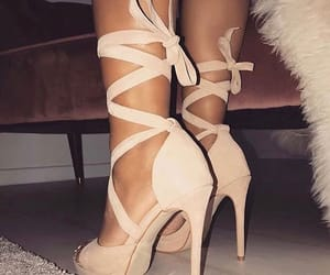 beige, shoes, and shoe image