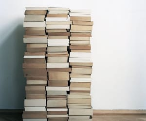 books, piles, and neat image
