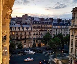 city, paris, and view image