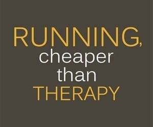running, quotes, and therapy image