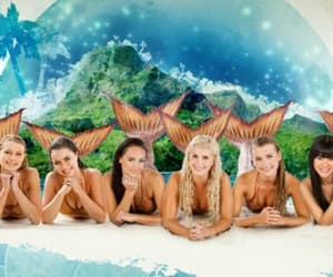 Island, mermaids, and mako mermaids image