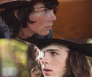 chandler, riggs, and the walking dead image
