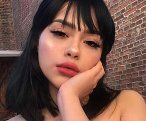 bangs, eyebrows, and beauty image