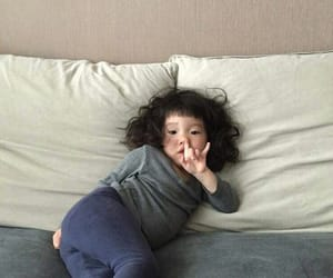 child, asian, and cute image