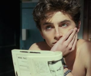timothee chalamet, call me by your name, and cmbyn image
