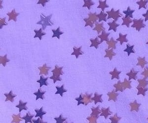 aesthetic, purple, and stars image